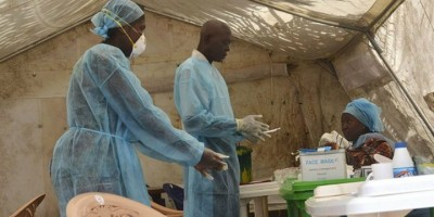 Ebola health workers, BBC